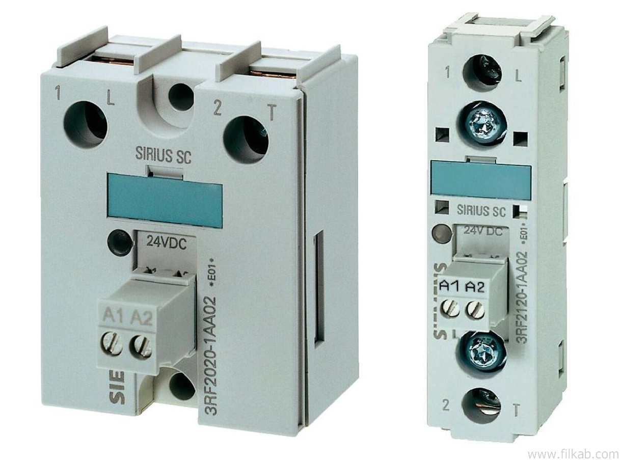 Filkab Products Electrical Equipment Siemens Sirius Modular Solid State Relay 230vac 3rf2 Relays Are Suitable For Surface Mounting On Existing Cooling Surfaces Is Quick And Easy Involving Just Two Screws